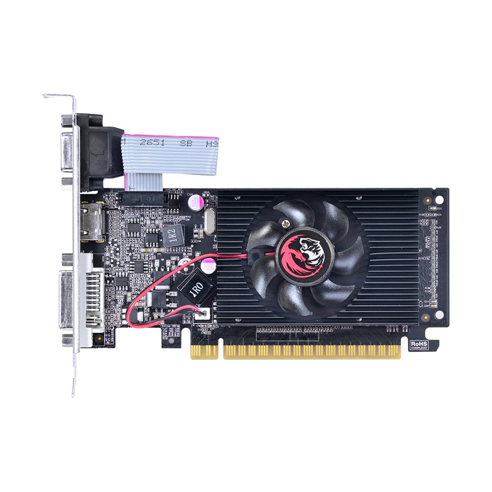 PLACA DE VIDEO GT210 1GB 64B DDR3 NVIDIA GEFORCE - PCYES