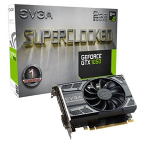 PLACA DE VIDEO GTX1050 2GB 128BITS DDR5 NVIDIA - EVGA