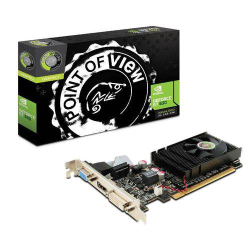 PLACA DE VIDEO PCI-E GT630 2GB 64B NVIDIA GEFORCE - POINT