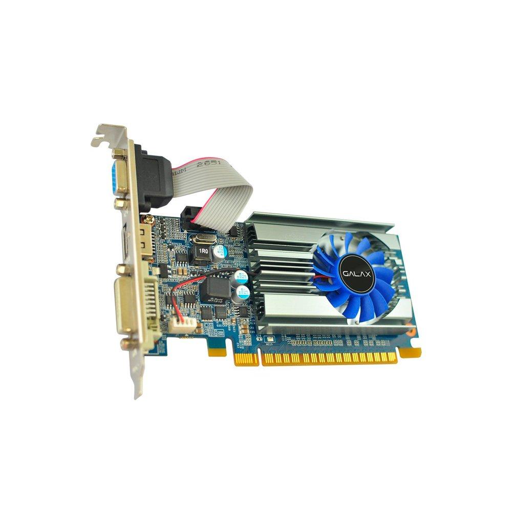 PLACA DE VIDEO PCI-E GT710 1GB 64GB DDR3 NVIDIA - GALAX
