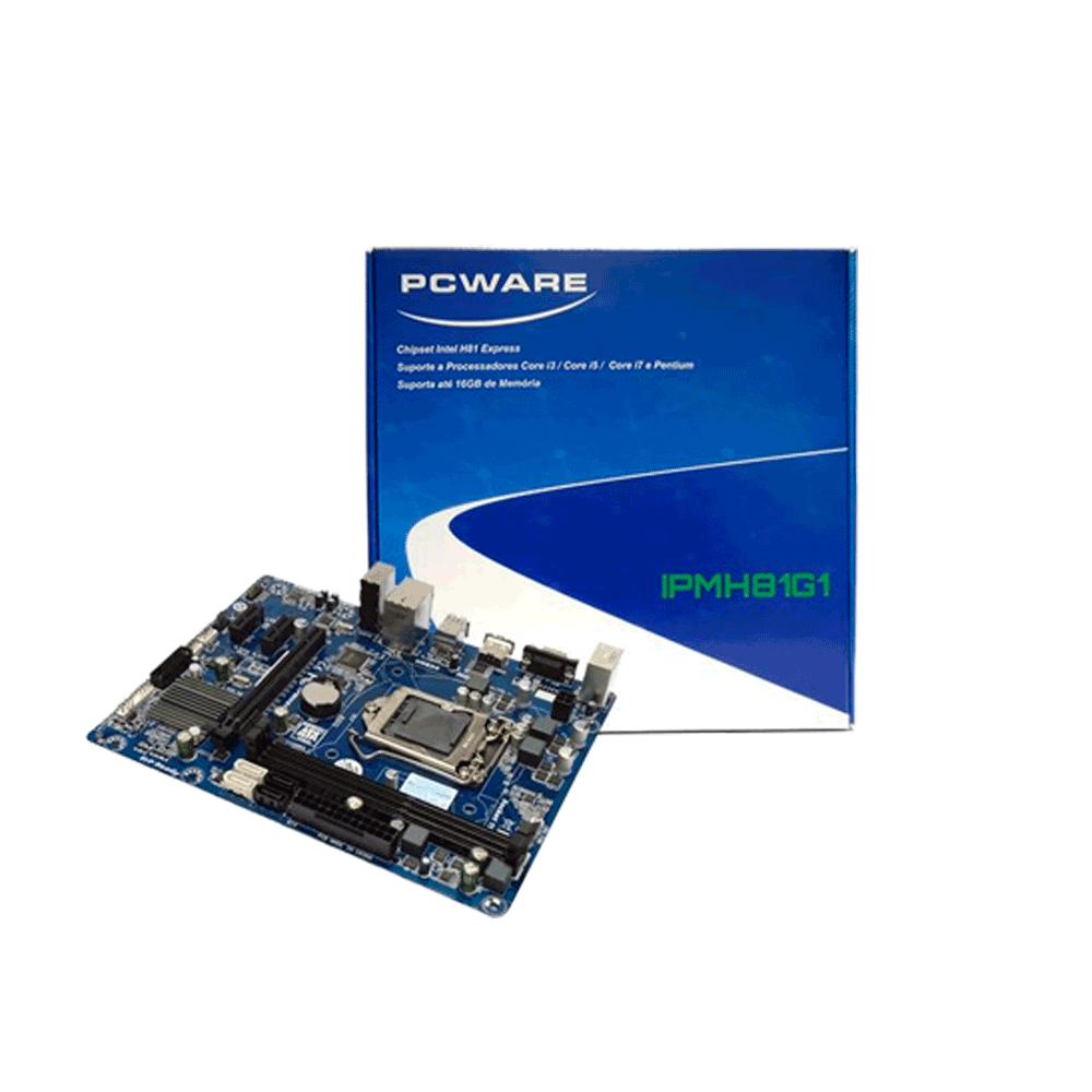 PLACA MAE IPMH81G1 HDMI LGA 1150 - PCWARE