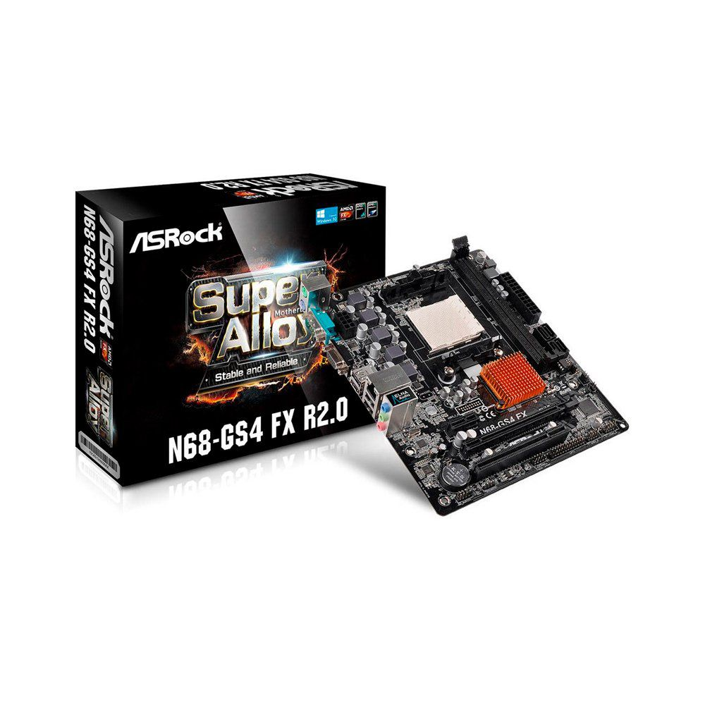 PLACA MAE N68-GS4 FX R2.0 AM3+ S/V/R BOX - ASROCK