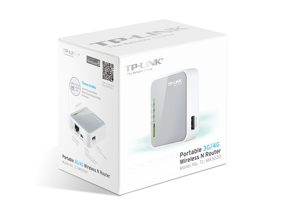 ROTEADOR 3G WIRELESS PORTABLE 150MBPS TL-MR3020-TP-LINK