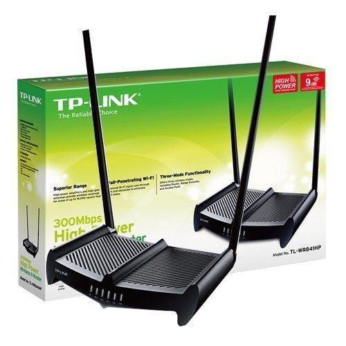 ROTEADOR HIGH POWER FURA PAREDE WIFI  N 300MBPS TL-WR841HP - TP-LINK