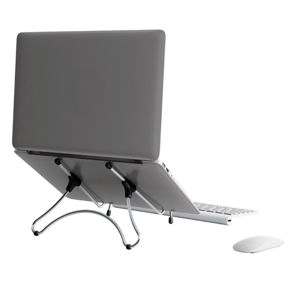 SUPORTE P/ NOTEBOOK UP TABLE METAL CROMADO 3467 - OCTOO
