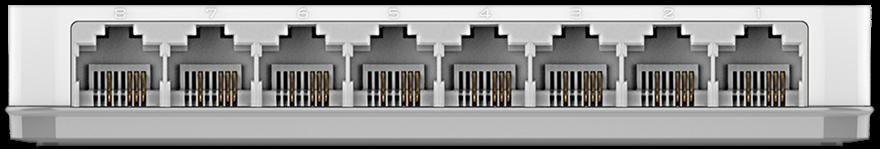 SWITCH 08PTS 10/100 MBPS ETHERNET DES-1008C - D-LINK