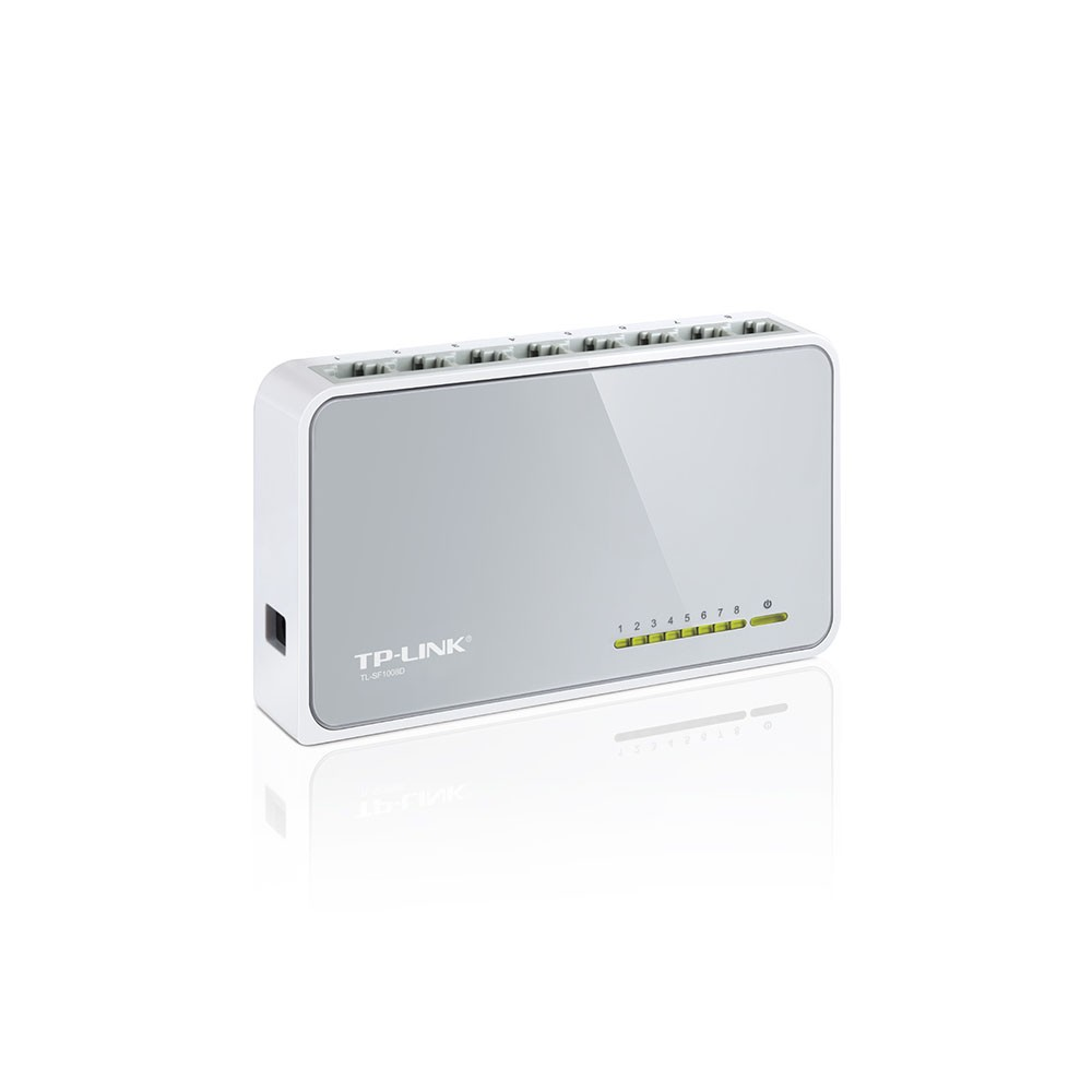 SWITCH 08PTS 10/100 MBPS TL-SF1008D - TP-LINK