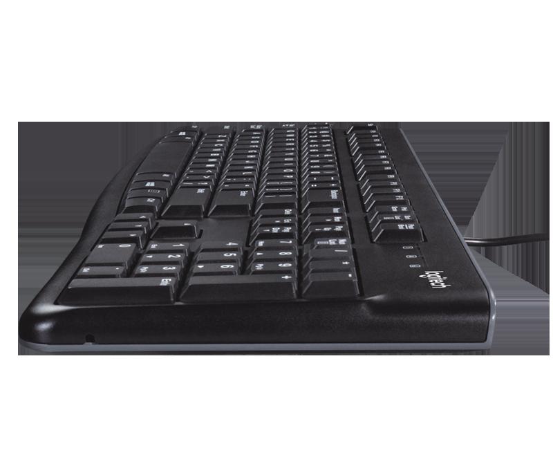 TECLADO + MOUSE USB MK120 ABNT2 PRETO - LOGITECH