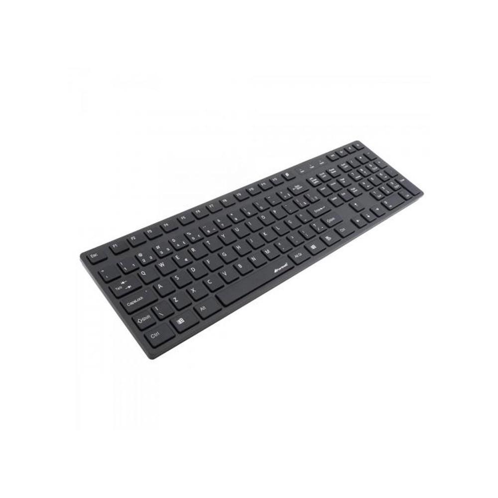 TECLADO USB MULT MK601 PRETO C/ PROTECAO - FORTREK