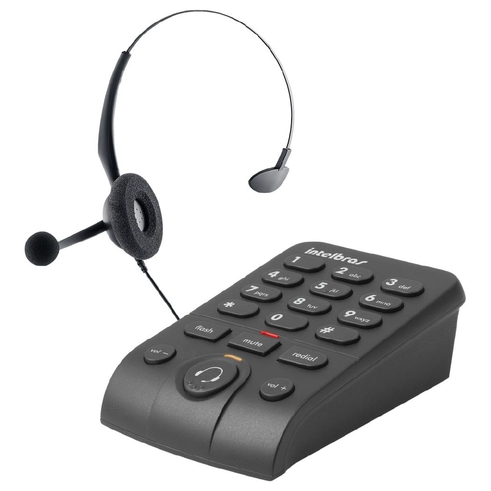 TELEFONE HEADSET HSB 40 - INTELBRAS
