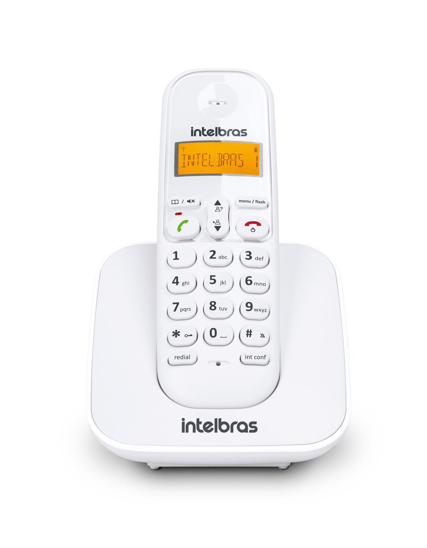 TELEFONE TS 3110ID SEM FIO BRANCO - INTELBRAS