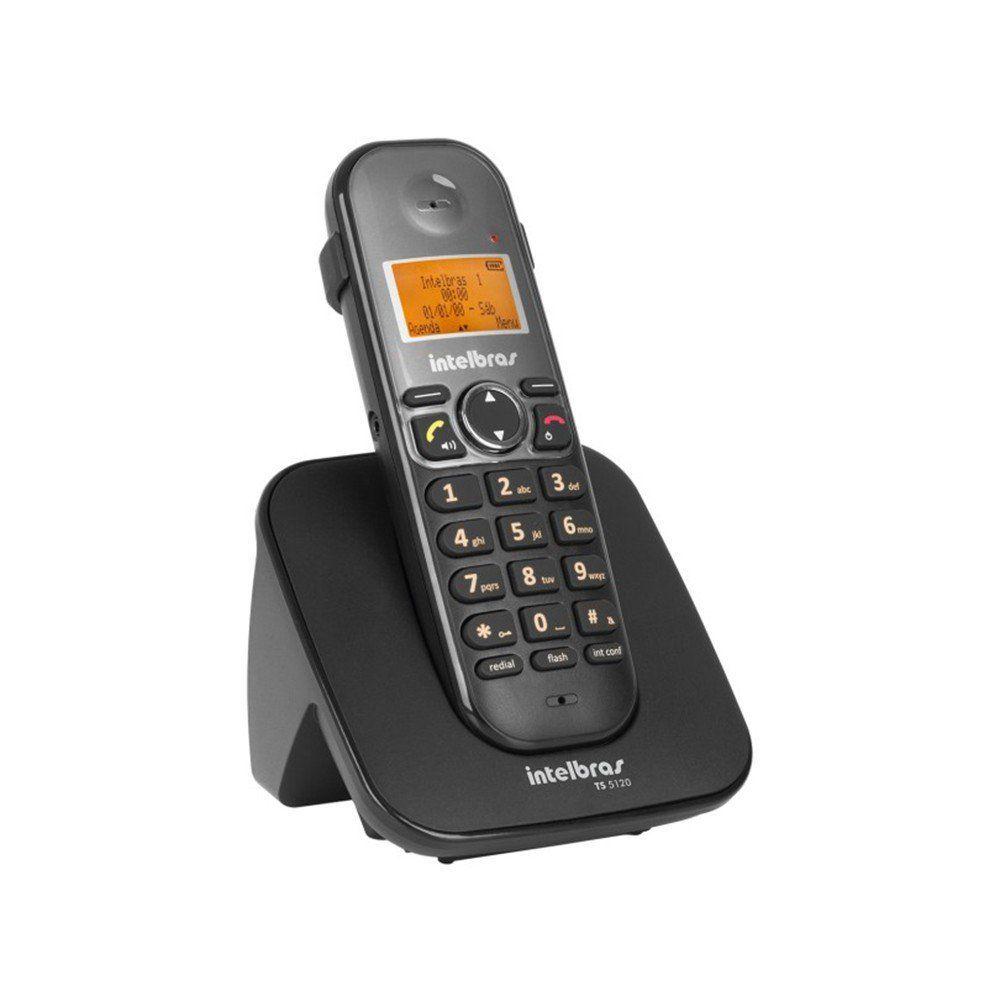 TELEFONE TS 5120 C/ VIVA VOZ S/ FIO - INTELBRAS  - GAÚCHA DISTRIBUIDORA DE INFORMÁTICA
