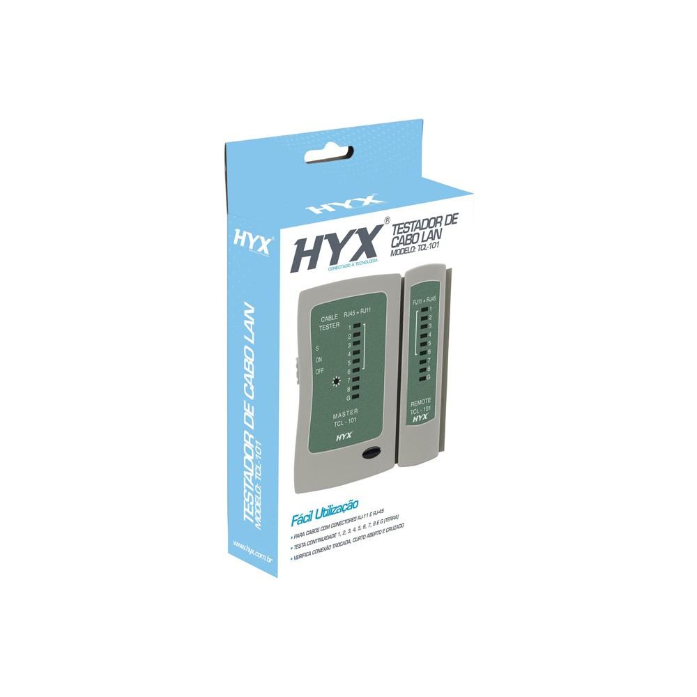 TESTADOR CABOS DE REDE TCL-101 - HYX