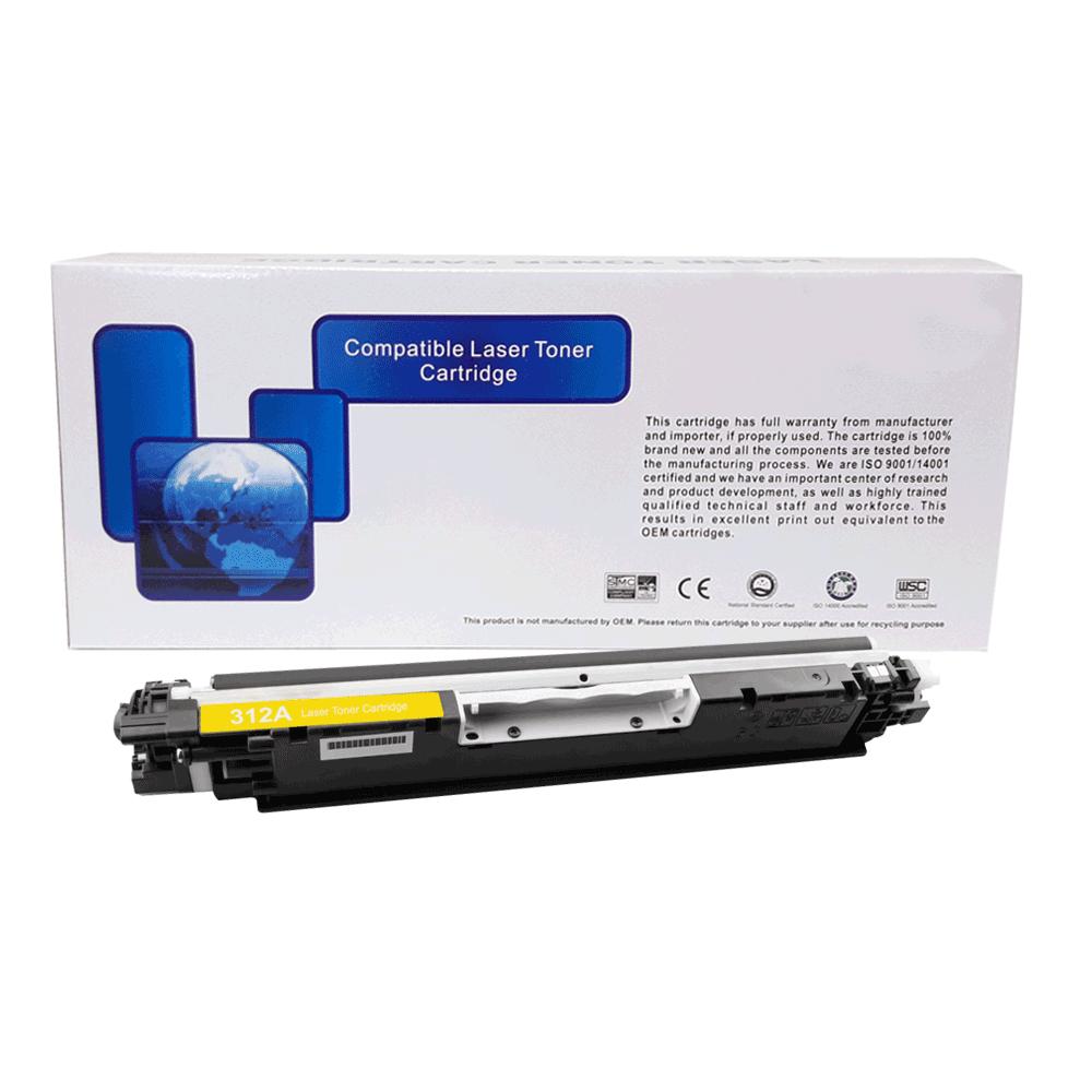 TONER HP 312/130/352A YEL 1K - (CP1020/M176N) - PREMIUM  - GAÚCHA DISTRIBUIDORA DE INFORMÁTICA
