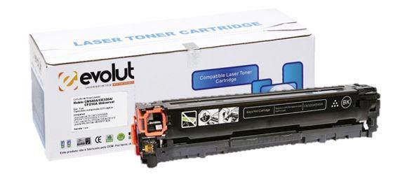 TONER HP CB540/CE320A/CF210A BK 2.4K - EVOLUT