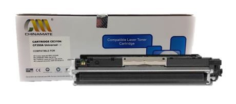 TONER HP CE 310/CF350 BK 1.3K - (CP1020/M176N) - CHINAMATE