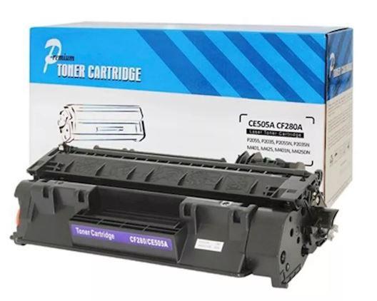 TONER COMPATÍVEL HP CE505 CE 505 A / CF 280 A 2.7K - ( P2035/ P2055 / M425) - PREMIUM
