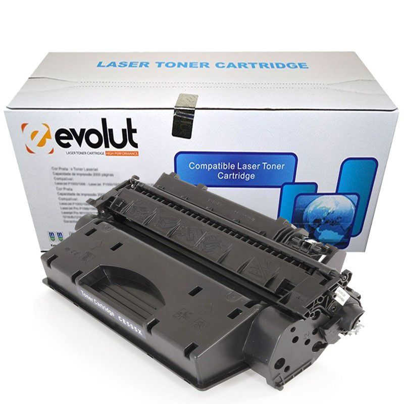 TONER HP CE 505X/CF280X 6.9K (P2055/2055N/M401) - EVOLUT