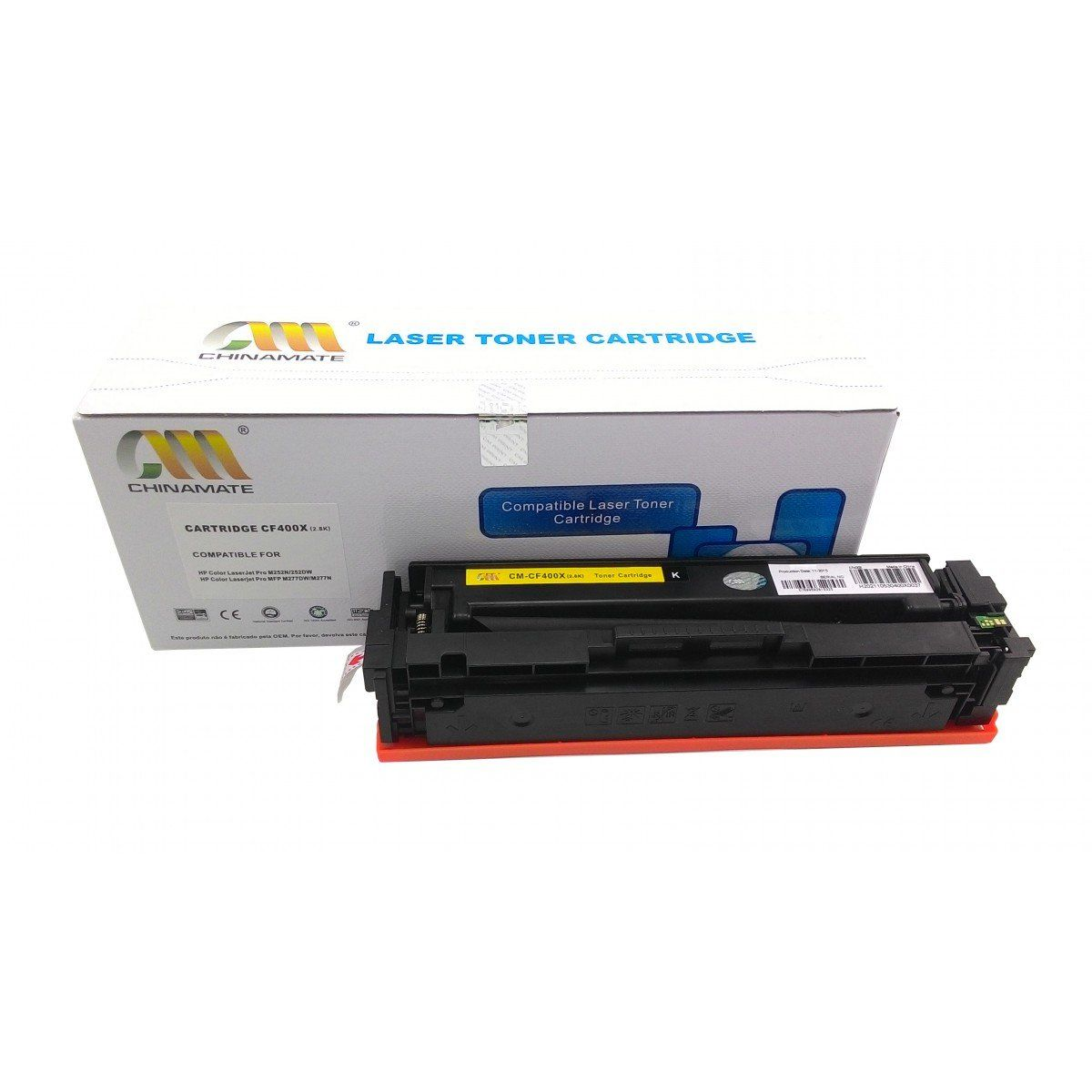 TONER HP CF400X BK 2.8K - (M252DW/M274N/M277DW) - CHINAMATE