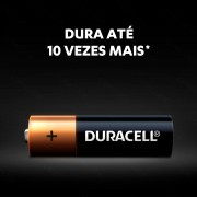 Pilhas Alcalina AA 4 UNID. MN1500B4 Duracell Lanternas, Controles, Brinquedos, Consoles