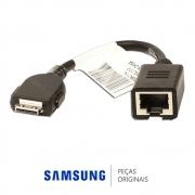 Adaptador de Rede Ethernet para TV Samsung UN40C7000, UN40C8000, UN46C7000, UN46C8000, UN55C9000