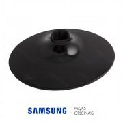 Base Inferior Circular Preta para Monitor Samsung S22C300F, S23B550V, T24B350LB, T24B530LB T27B350LB