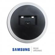 Base Inferior Circular Preta / Prata para Monitor Samsung 540N, LS15HAAKSY, 740N, PO15T105S
