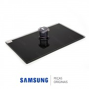 Base Inferior de Vidro Temperado Retangular para TV Samsung Plasma 43' e 51' e LED 55'