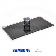 Base Inferior de Vidro Temperado Retangular para TV Samsung UN40D5500R, UN40D6000S