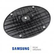 Base Inferior Oval Preta Monitor / TV Samsung S23B550V, T22B300LB, T24B530LB, T22C310LB, T24B301LB