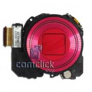 Bloco Ótico Vermelho para Câmera Digital Samsung ST200,  ST200F, ST201
