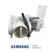 Bomba de Drenagem 110V para Lava e Seca Samsung WD7102, WD7122 e WD9102