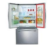 Borracha da Porta / Gaxeta Direita ou Esquerda do Refrigerador Samsung RF263BEAESL, RF26DEUS