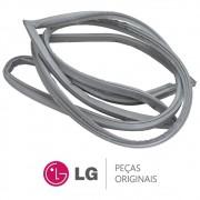 Borracha da Porta / Gaxeta do Freezer LG GR-S507GSM GR-S637GSM GR-B501GLQ GR-B631GLQ