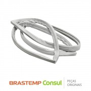 Borracha da Porta / Gaxeta do Freezer (Porta Superior) 326031153 para Geladeira Brastemp BRM36