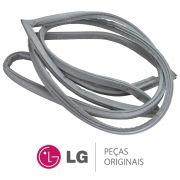 Borracha da Porta / Gaxeta do Freezer (Porta Superior) para Refrigerador LG GR-P246CSP, GR-J297WSBN