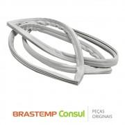Borracha da Porta Inferior 326001585 / 004238281 Geladeira Brastemp Consul BRA34, CRA34A, BRB35A