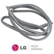 Borracha da Porta Inferior / Gaxeta para Refrigerador LG GR-P246CSP, GR-P246CSP1