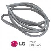 Borracha da Porta Superior / Gaxeta do Freezer para Refrigerador LG GC-J237JSP, GC-J237JSP1