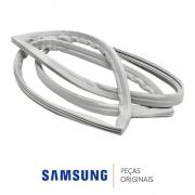 Borracha / Gaxeta da Porta do Freezer para Refrigerador Samsung RL62TCPN e RL62TCSW