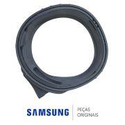 Borracha Porta Gaxeta DC64-01810E Lava Seca Samsung WD15H7300KP/AZ, WD15H7300KW/AZ