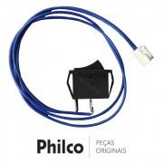 Botão Power (Liga / Desliga) 16A 250V KCD3 Caixa Acústica Philco PHT5000, PCX5500, PCX4000