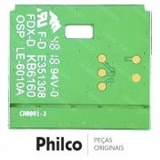 Botão Power (Liga / Desliga) com Placa IR JUC7.820.00181663 TV Philco PTV49F68DSWN PTV58F60SN