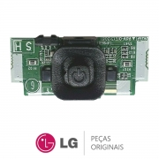 Botão Power / Placa IR Receptora de Sinal EBR78029401 / EBR78029405 Monitor LG 22MT45D 28LB600B