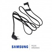 Cabo de Força 1,5M Novo Padrão ABNT 2 Pinos para TV LED Samsung Diversos Modelos