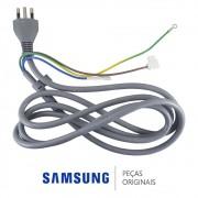 Cabo de Força 250V 16A DTIII-3P-06 / DB93-05185W Ar Condicionado Samsung AQ18ESBAXAZ AS18ESBTXXAZ