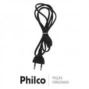 Cabo de Força 2.5A 250V Caixa Acústica Philco PBS200BT, PCX1000, PCX1100, PCX16000
