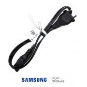 Cabo de Força Novo Padrão ABNT  para Monitor e Porta Retrato Digital Samsung Diversos Modelos