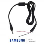 Cabo de Reposição do Carregador / Adaptador Fonte Externa Padrão Notebook Samsung