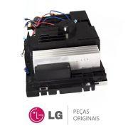 Caixa de Controle com Placa Condensadora ABQ74304920 Ar Condicionado LG USUW122HSG3